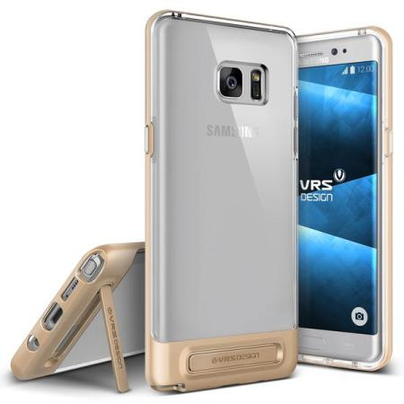 VRS Design Crystal Bumper Samsung Galaxy Note 7 Case - Shine Gold