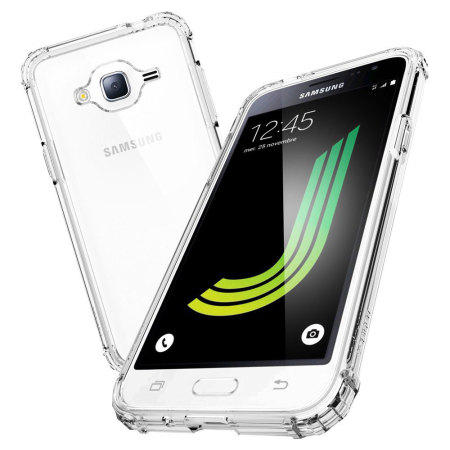 Spigen Ultra Hybrid Samsung Galaxy J3 2016 Case - Crystal Clear
