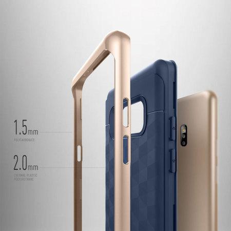 Caseology Parallax Series Samsung Galaxy Note 7 Hülle Navy Blau