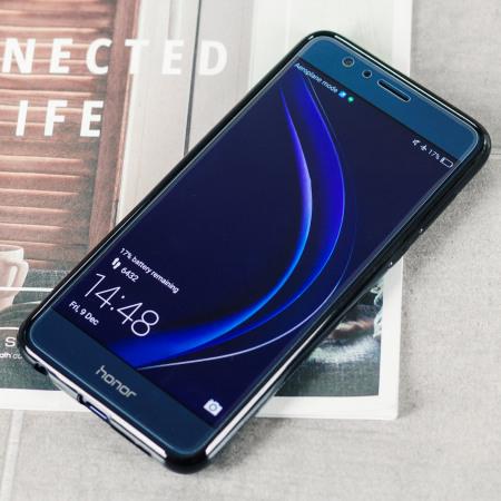 Olixar FlexiShield Huawei Honor 8 Gel Case - Solid Black