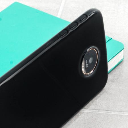 the peak olixar flexishield motorola moto z gel case solid black morepassive reduction relies