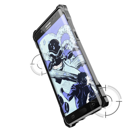 Ghostek Covert Samsung Galaxy Note 7 Bumper Case - Clear / Black