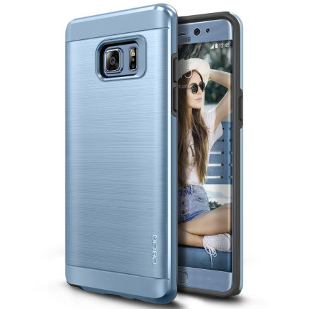 Obliq Slim Meta Samsung Galaxy Note 7 Case - Blue Coral