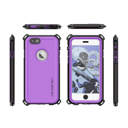 Ghostek Nautical Series iPhone 6S / 6 Waterproof Case - Purple