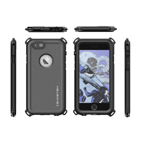 mobile ghostek nautical series iphone 6s 6 waterproof case black 3 morevery rarely