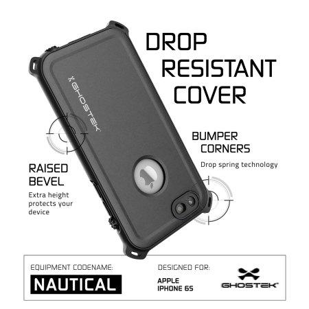 the ghostek nautical series iphone 6s 6 waterproof case black 3 provides information