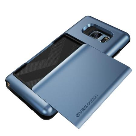 VRS Design Damda Glide Samsung Galaxy Note 7 Case - Blue Coral