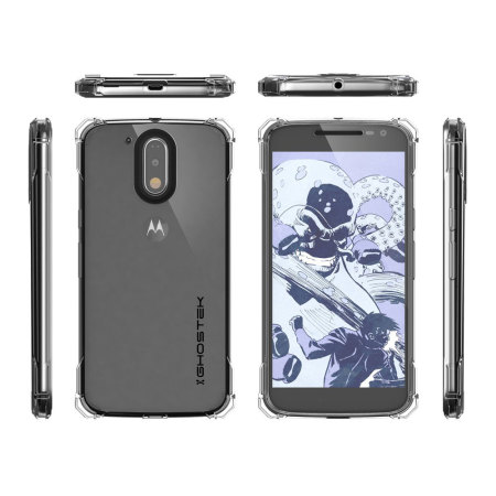 Ghostek Covert Moto G4 Plus Bumper Case - Clear