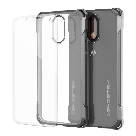 Ghostek Covert Moto G4 Plus Bumper Case - Clear / Black