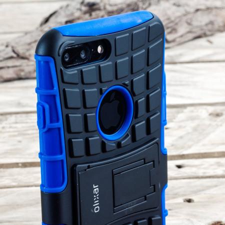 Olixar ArmourDillo iPhone 7 Plus Protective Case - Blue