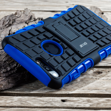 olixar armourdillo iphone 7 protective case blue 9