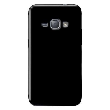 Olixar FlexiShield Samsung Galaxy J1 2016 Gel Case - Solid Black