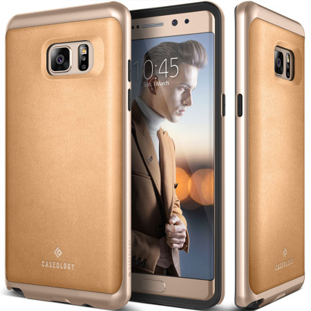 Caseology Envoy Series Samsung Galaxy Note 7 Case - Leather Beige