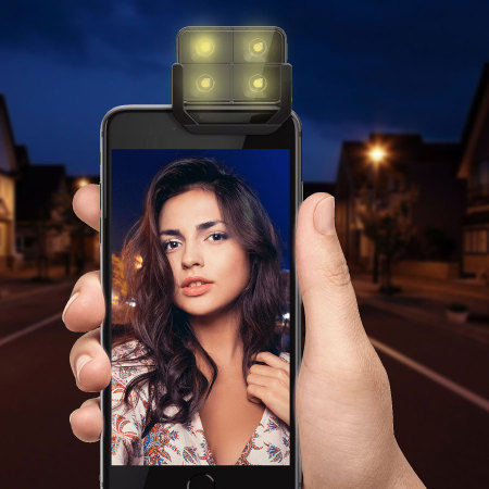 Flash LED inalámbrico para iOS & Android iblazr2