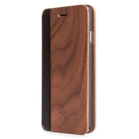 son woodcessories ecoflip comfort wooden iphone 6s6 case walnut allows the user