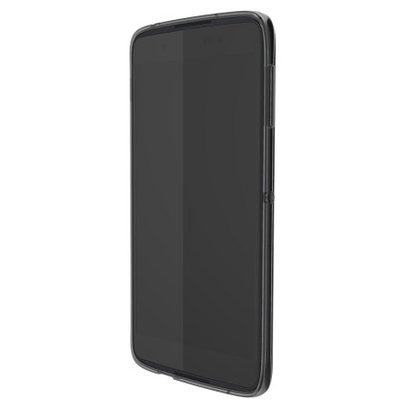 Official Blackberry DTEK50 Soft Shell Translucent Case - Black