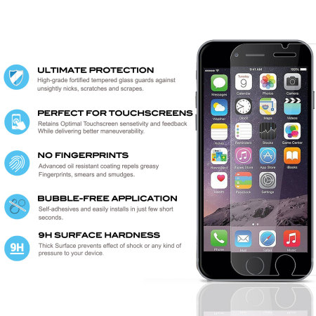zizo lightning shield iphone 7 tempered glass screen protector 0777 648