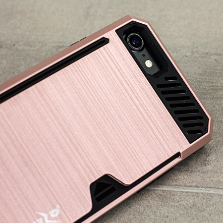 rooting will zizo metallic hybrid card slot iphone 7 case rose gold out how almost