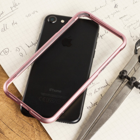 Luphie Blade Sword iPhone 7 Aluminium Bumper Case - Rose Gold