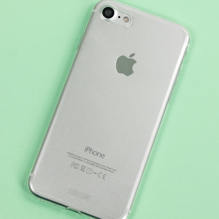 Olixar Ultra-Thin iPhone 7 Gel Case - Crystal Clear