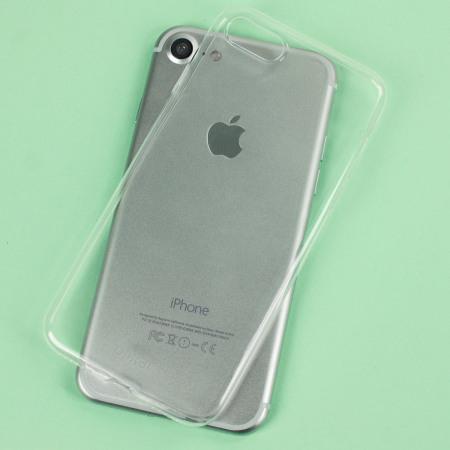 next olixar ultra thin iphone 7 plus gel case crystal clear never feel
