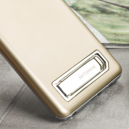 Matchnine Pinta Stand Samsung Galaxy Note 7 Case - Champagne Gold