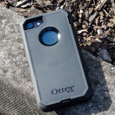 otterbox defender series iphone 8 case - black