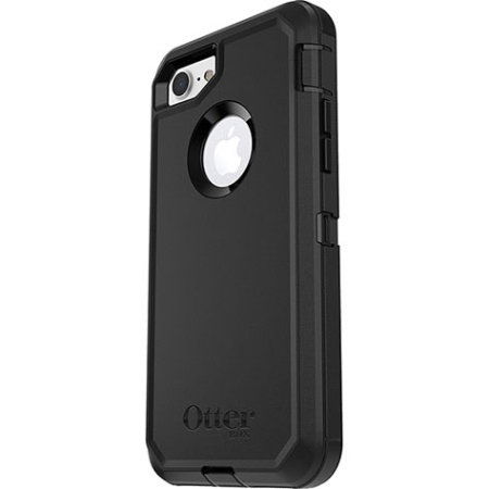 OtterBox Defender Series iPhone 8 Plus / 7 Plus Deksel - Sort