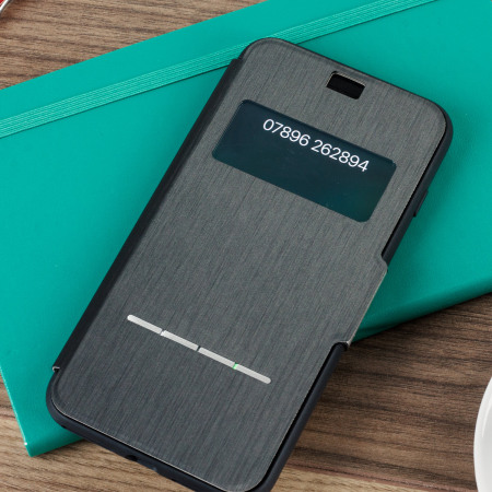 Housse iPhone 8 Plus / 7 Plus Moshi SenseCover – Noire charbon