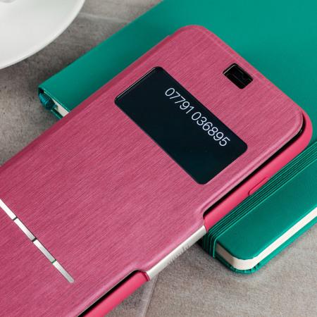 moshi sensecover iphone 7 smart case rose pink app, website