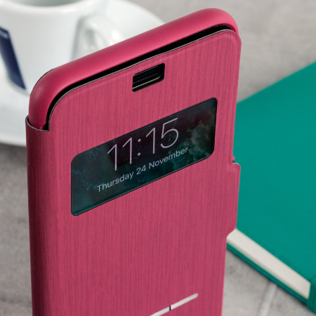 Moshi SenseCover iPhone 7 Plus Smart Case - Rose Pink