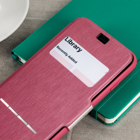 MIT Technology moshi sensecover iphone 7 smart case rose pink opened October 2008