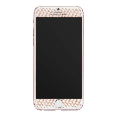 best sneakers 4cdee fec97 Case-Mate iPhone 7 Plus Gilded Glass Screen Protector - Rose Gold