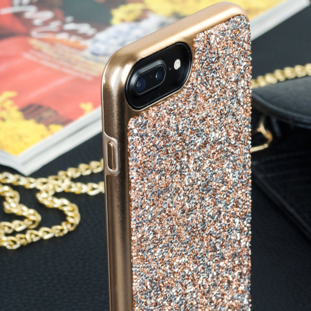 the latest 2946e 65f9b Prodigee Fancee iPhone 7 Plus Glitter Case - Rose Gold