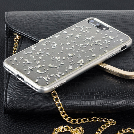 Prodigee Scene Treasure iPhone 7 Plus Case - Silver Sparkle