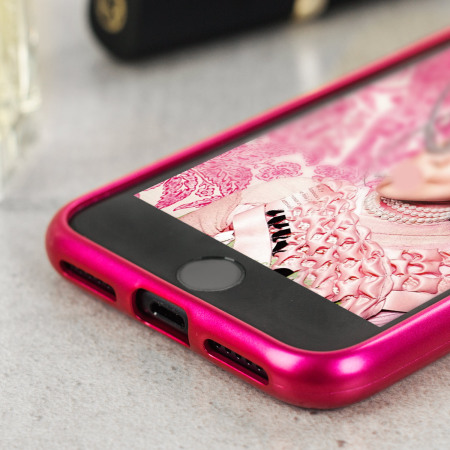 Mercury iJelly iPhone 7 Gel Case - Hot Pink