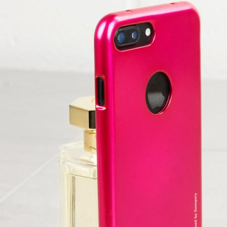 on sale c7af6 58d12 Mercury iJelly iPhone 7 Plus Gel Case - Hot Pink
