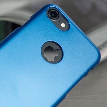 Coque iPhone 8 / 7 Mercury iJelly Gel - Bleue