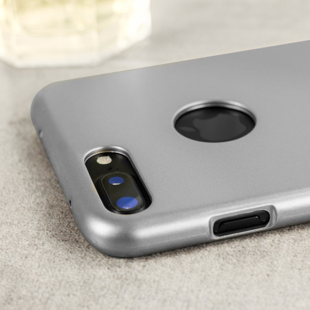Mercury iJelly iPhone 8 Plus / 7 Plus Gel Case - Silver
