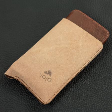 vaja wallet agenda iphone 7 premium leather case dark brown