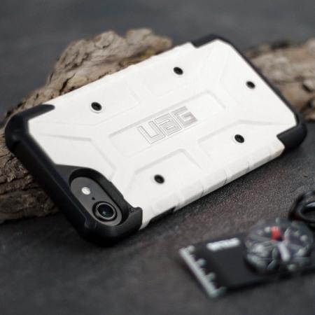 quality design d7906 7dd7c UAG Pathfinder iPhone 8 / 7 Rugged Case - White / Black