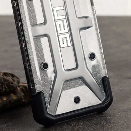 Coque iPhone 8 / 7 UAG Plasma Protective – Glace / Noir