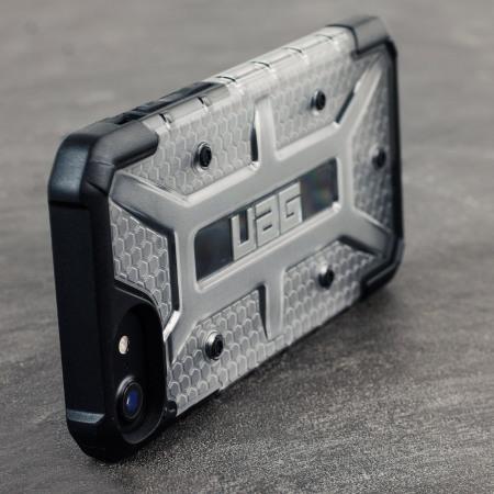 uag plasma iphone 7 protective case ice black