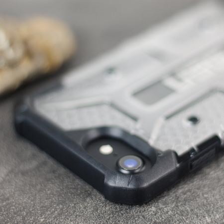 minimum uag plasma iphone 7 protective case ice black