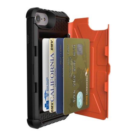 quality design d38db 36203 UAG Trooper iPhone 7 Protective Wallet Case - Rust / Black