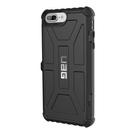 Coque iPhone 8 Plus / 7 Plus UAG Trooper Portefeuille – Noire