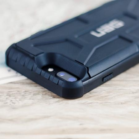 uag trooper iphone 7 plus protective wallet case black
