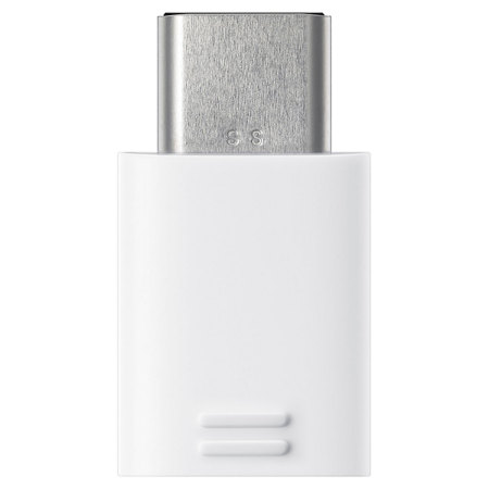 Official Samsung Micro USB to USB-C Adapter - White