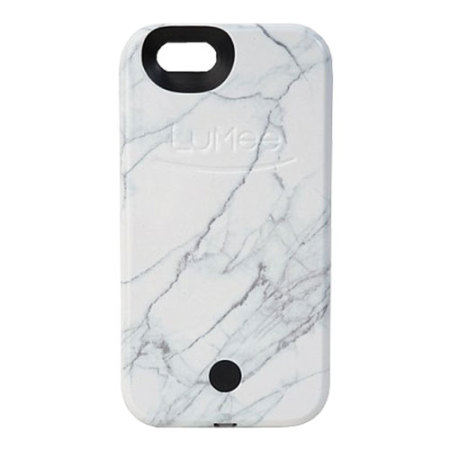 Vanity Light Iphone 6 Case : LuMee iPhone 6S / 6 Selfie Light Case - White Marble Reviews :: MobileFun Ireland