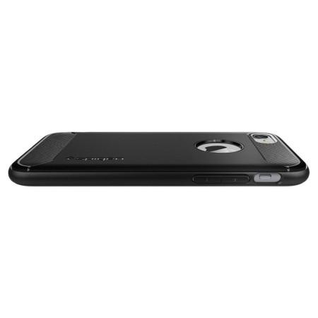 Spigen Rugged Armor iPhone 8 Case - Black